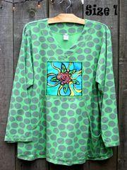 Big Dot Water Lily Sweatshirt
