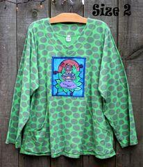 Big Dot Lotus Lady Sweatshirt