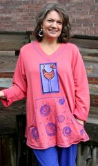 Quirky Bird Sweatshirt