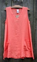 Match Point Coral Tank Tunic