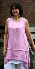 Match Point Lilac Tank Tunic