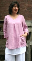 Match Point Lilac Pullover Top