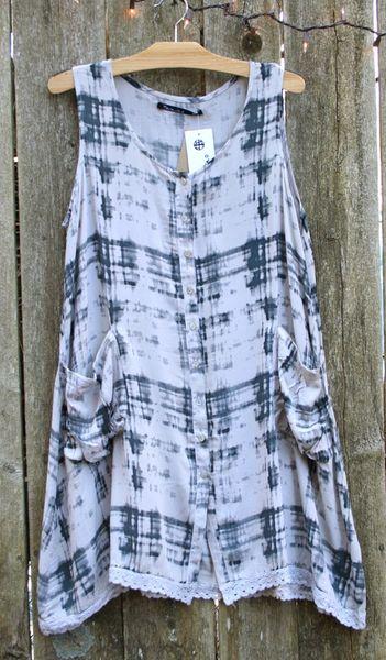 Tara Vao Short Dress - Size S -- LAST ONE!