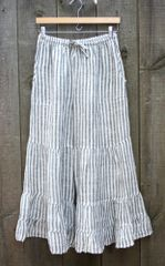 Paper Lace Linen Tiered Pant