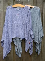 Lightweight Sweater Poncho
