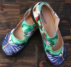 Anuschka Mita Lovely Leaves Sandal
