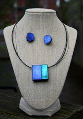 Origins Square Magnetic Pendant Necklace