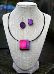 Origins Square Magnetic Pendant Necklace -- more colors