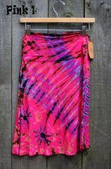 Kathmandu Midi Pink Skirt