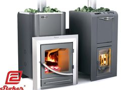 ERMAK 30 ELITE PLUS WOOD BURNING SAUNA STOVE