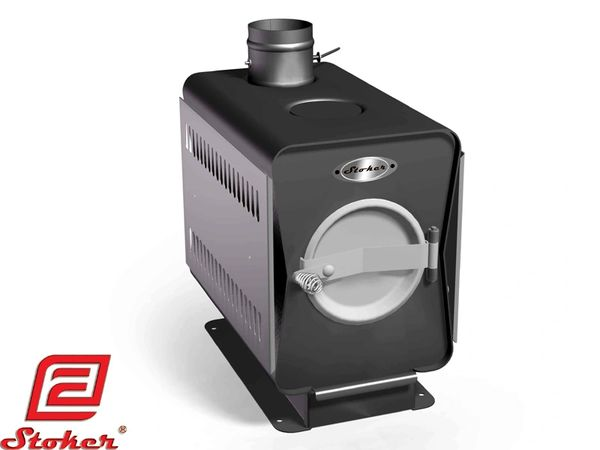 STOKER GARDEN 100 WOOD BURNING STOVE WITH COOKING TOP