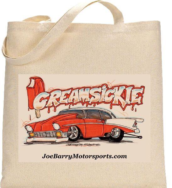 """CreamSickle Bag """"CartoonzBy Mikey"""""""