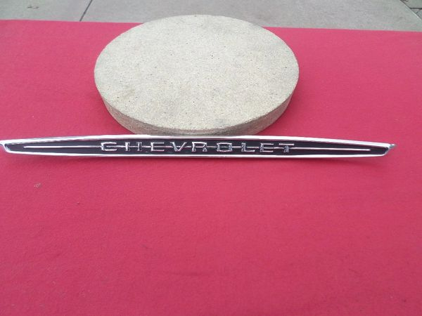 1960 Chevrolet Dash Script