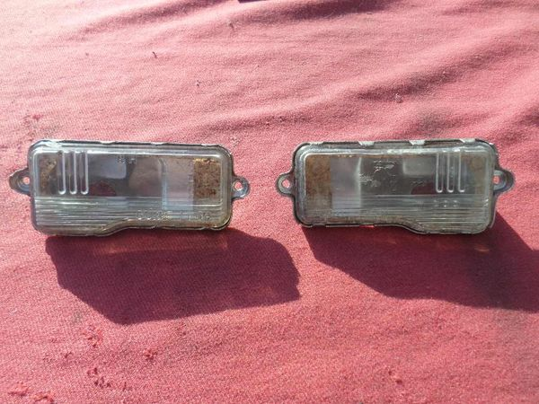 1959 Rear License Lamp Assemblies (pr)