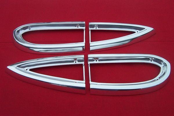 1959 El Camino Wagon Taillight Bezels