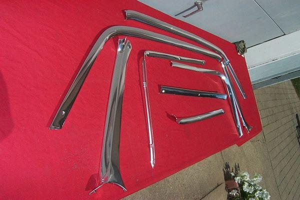 1963 - 1964 Headliner Trim (2 door hardtop)