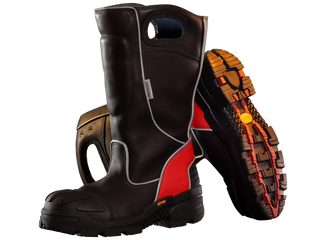 FireDex FDXL100 Leather Firefighter Boot