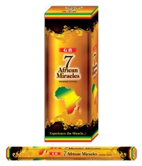 7 AFRICAN MIRACLES INCENSE 15GR