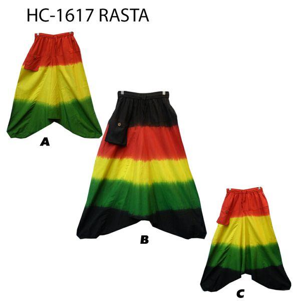 RASTA HAREM PANTS