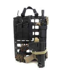 Grey Man Tactical Rigid MOLLE Panel 10.75in x 15in