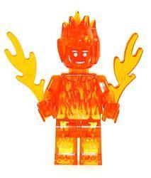 Superhero - Human Torch - Clear