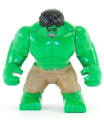 """Superhero 3.5"""" - Hulk - Lime Green"""