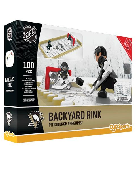 Oyo Sportstoys Pittsburgh Penguins Backyard Rink Set