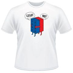 Lego! No! Tshirt sz. Large
