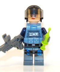 Jurassic World - ACU Officer w/ Dart Gun