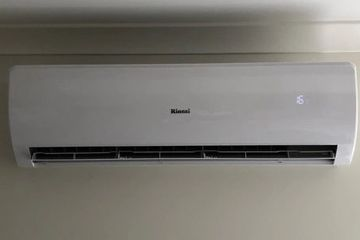 Installed rinnai indoor unit split system