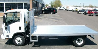 solid aluminum truck bed