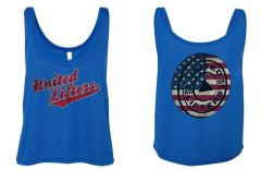 UL - Old Glory - Ladies Crop Tank