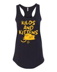 UL - Kilos and Kittens - Ladies Racerback Tank