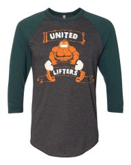United Lifters - Jacked o Lantern Halloween - Unisex Baseball Tee