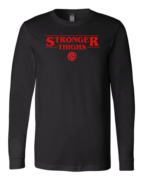 UL - Stronger Thighs - Unisex Long Sleeve Tee TRIBLEND