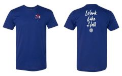 UL - Nye - Work Like Hell - Unisex Tee