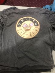 UL -SNACK ATTACK - Ladies Flowy Pocket Tee - Dark Gray / Dark Gray POCKET