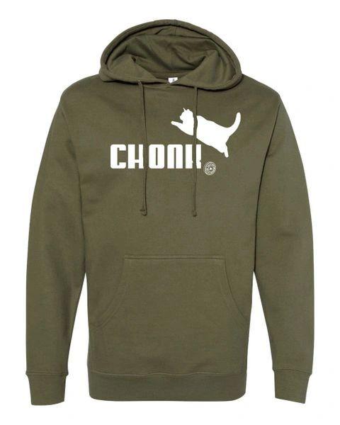 UL - CHONK - Unisex Hoodie - ARMY GREEN