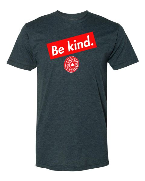 UL - Be Kind - Gray Unisex Tee