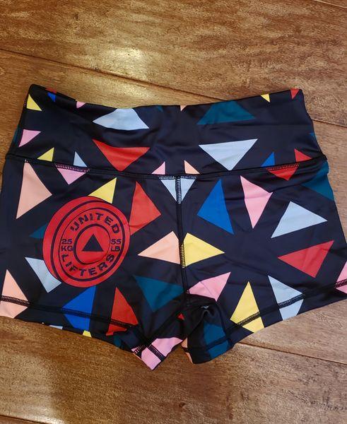 UL - Active Shorts 2.0- HALEI JO-TRIANGLES