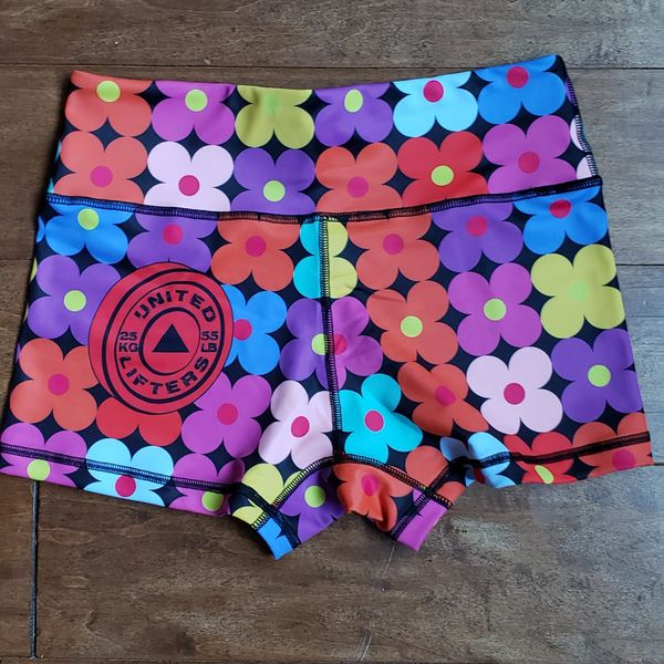 UL - Active Shorts 2.0 -DIGITAL FLOWERS