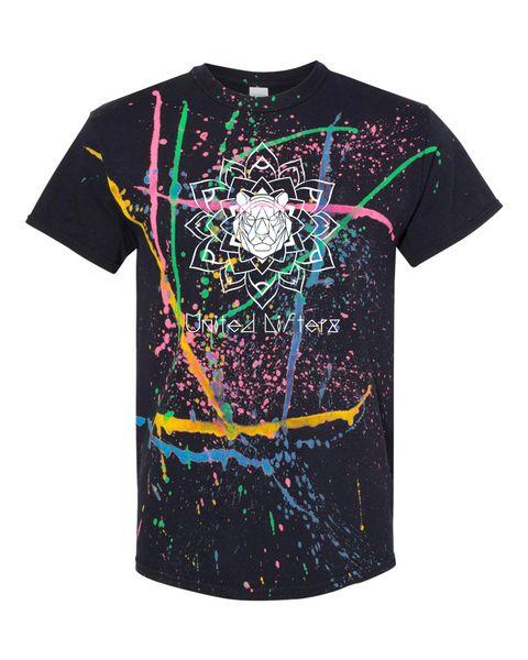 UL - RAINBOW SPLATTER MANDALA - Unisex shirt