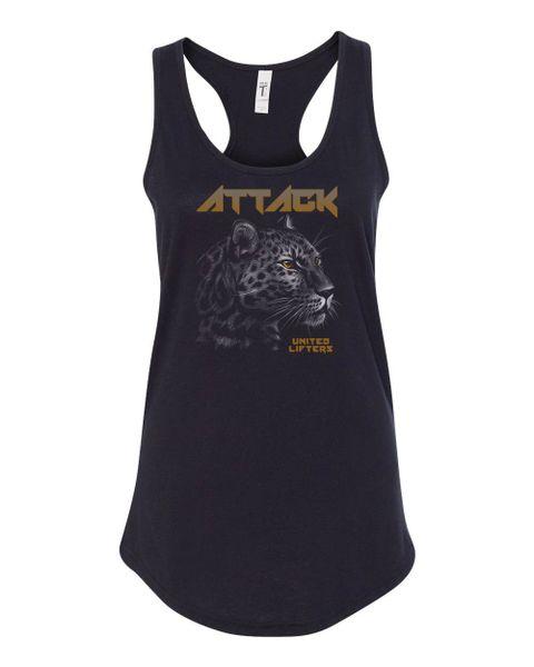 UL - ATTACK Leopard - LADIES Tanktop
