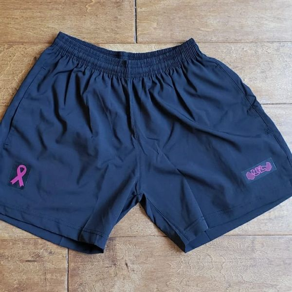 UL - Black and pink FLEXIBLE Shorts - Fundraiser
