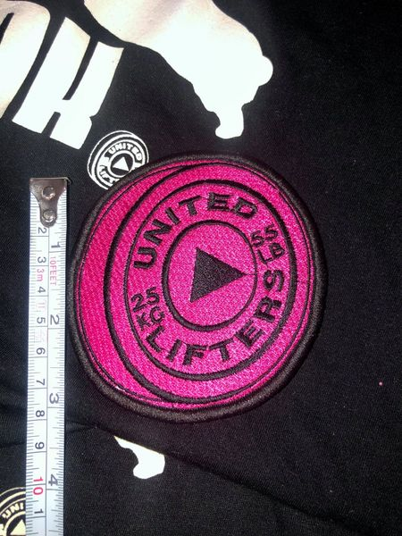 UL - Pink Plate VELCRO PATCH