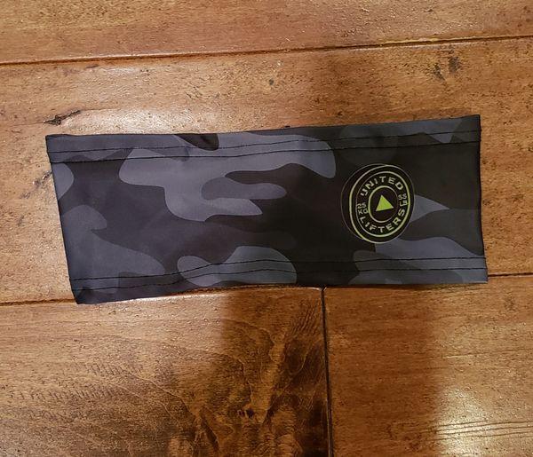 UL Active Headband - BLACK CLAMO