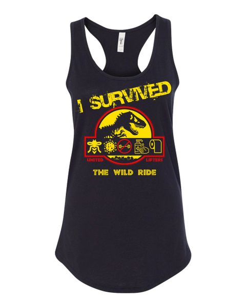UL - Ladies Racerback Tank - I SURVIVED