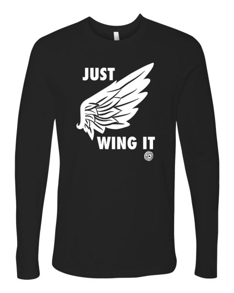 UL - JUST WING IT - Unisex Long Sleeve Tee