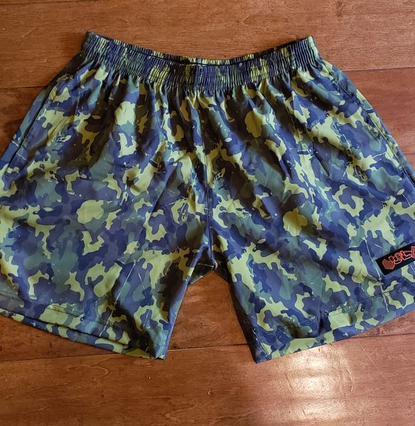 UL - Flexible Shorts - GREEN CAMO