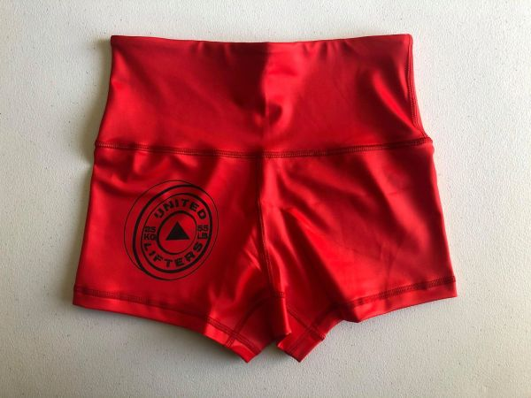 UL - HIGH WAISTED Active Shorts - RED